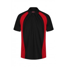 King Alfred Black&Red Boys PE Polo With Logo (9-10 yrs - S)