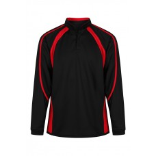 King Alfred Black&Red Rugby Shirt (9-10yrs - S)