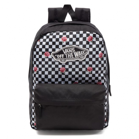 Realm Backpack - Rose Checkerboard