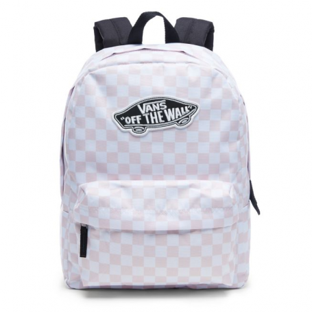 Realm Backpack - Pink Checkerboard