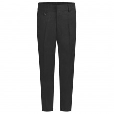 Slim Leg Trousers - Charcoal 3/4yrs-13yrs From £10.99