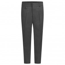 Slim Leg Trousers - Grey 3/4-13yrs  From £10.99