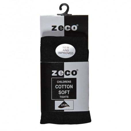 Black Cotton Soft Tights