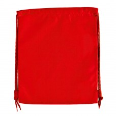 Red  Side Drawstring Nylon PE Bag