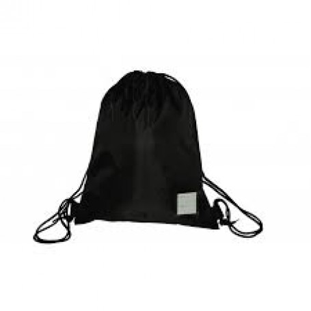 Black Rucksack Style PE/ swimming Bag (large)