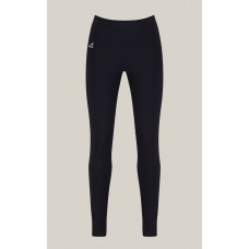Girls Black Sports Leggings (Optional) (9/10- S)