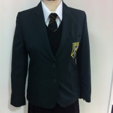 "Girls Robert Blake Old Logo Fitted Blazer   (28""-36"")"