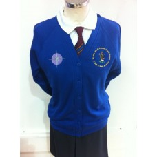 St John and St Francis Royal Cardigan (with school logos)