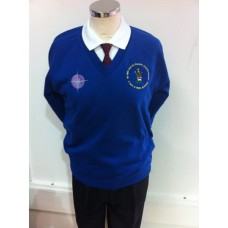 St John and St Francis Royal Sweatshirt (with school logos)