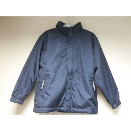 Navy Reversible School Jacket