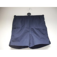 Girls Navy Micro Sports Shorts (S - L)