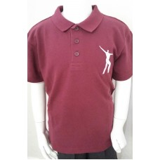 Willowdown Embroidered Claret Polo Shirt