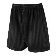 Unisex Black football shorts