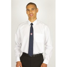 "Plain White Long Sleeve Easy Care Shirts (13""-14"")"