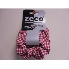 Red Gingham Scrunchy ( 2pk )
