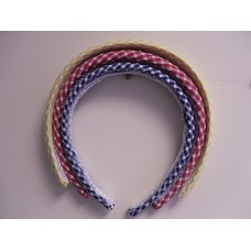 Blue Gingham Alice Band