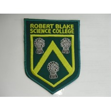 Robert Blake embroidered Badge