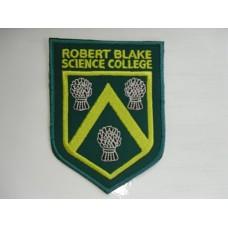 Robert Blake embroidered Badge