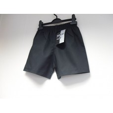 Black Polycotton PE Shorts