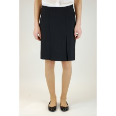 "Black Two Pocket Skirt  (28"" - 38"")"