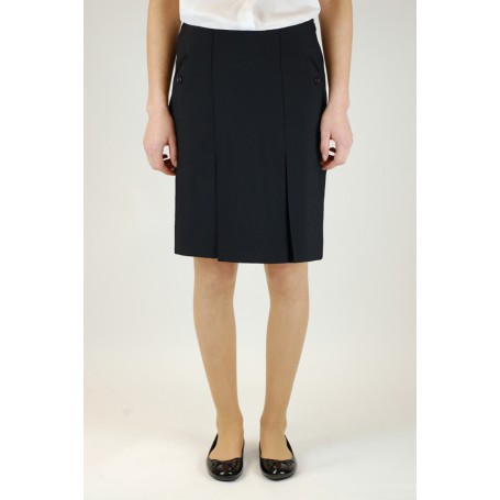 "Grey Two Pocket Skirt  (28"" - 38"")"