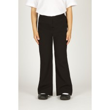 Girls Trutex Black Junior Trousers
