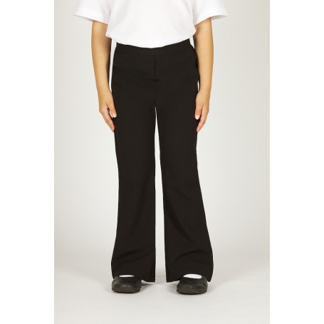 Girls Trutex Black Junior Trousers