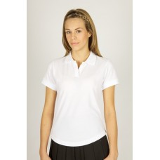 "White fitted girls sports top (36"" - 40"")"