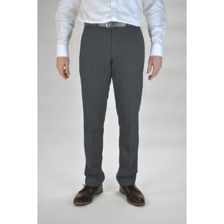 "Boys Grey Trutex Slim Leg Trousers  (24"" - 28"")"
