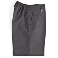 Boys Grey Sturdy Fit Shorts (15-16 Years)