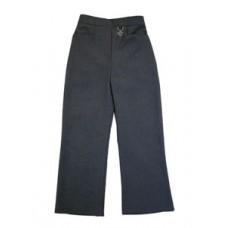 Zeco Girls Black 2 Pocket Lycra Trousers
