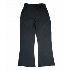 Zeco Girls Black Sturdy Fit Trousers