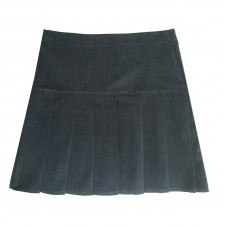 "Black Charleston  Skirt   26""-38"""