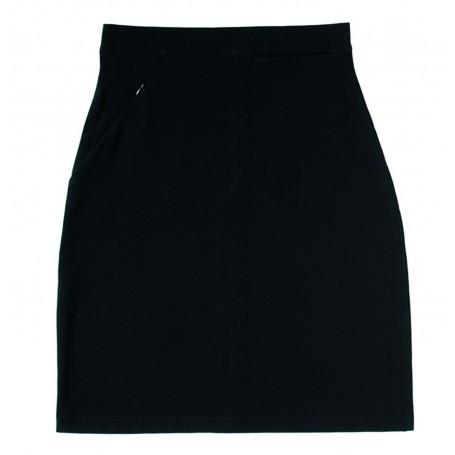 Zeco - Lycra Black Skirt   (VAT)