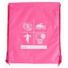 Pink side Drawsring PE / Swimming Bag