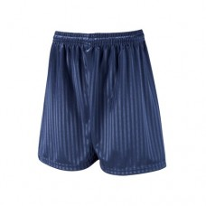 Unisex Navy Blue football shorts